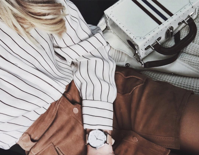 how to style stripes in summer