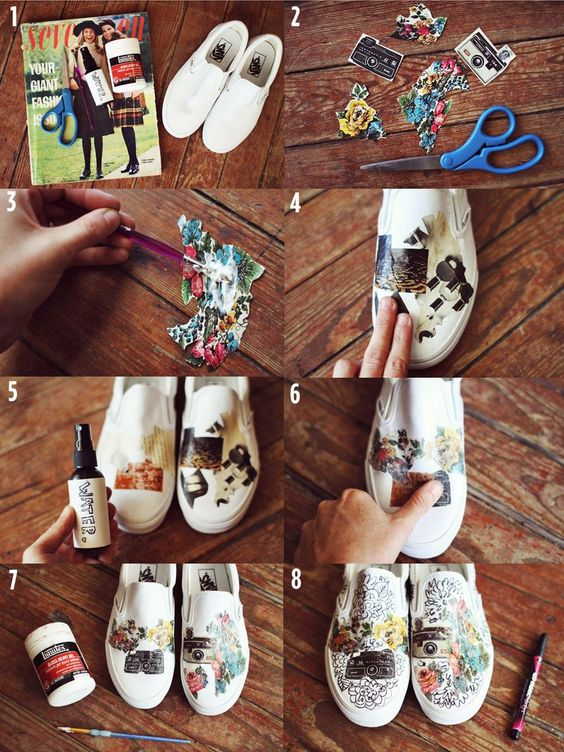 cutest way to revamp your sneakers