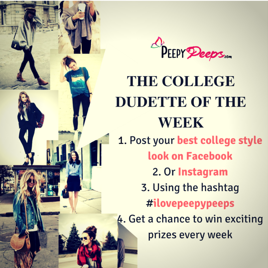 The college dudette of the week