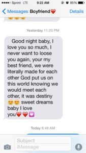 good night texts for your long distance boyfriend