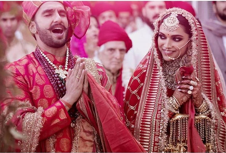 deepika's wedding look